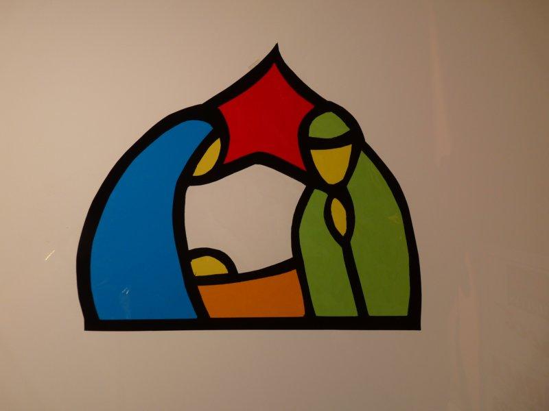 Asociaci n belenista de lava infantil idea 001 - Como hacer una vidriera ...